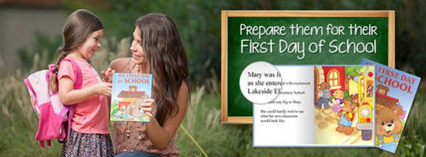 Back To school personalized books
